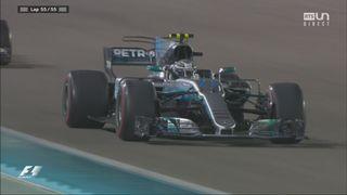 Course: Valteri Bottas (FIN) s'impose devant le champion du monde Lewis Hamilton (GBR) et Sebastian Vettel (GER) [RTS]