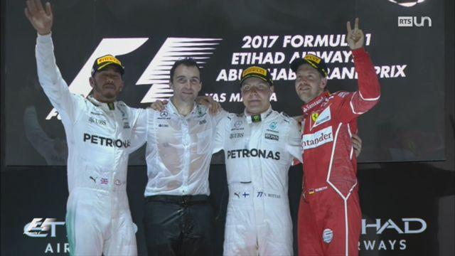 F1: Valterri Bottas remporte le GP d'Abu Dhabi [RTS]