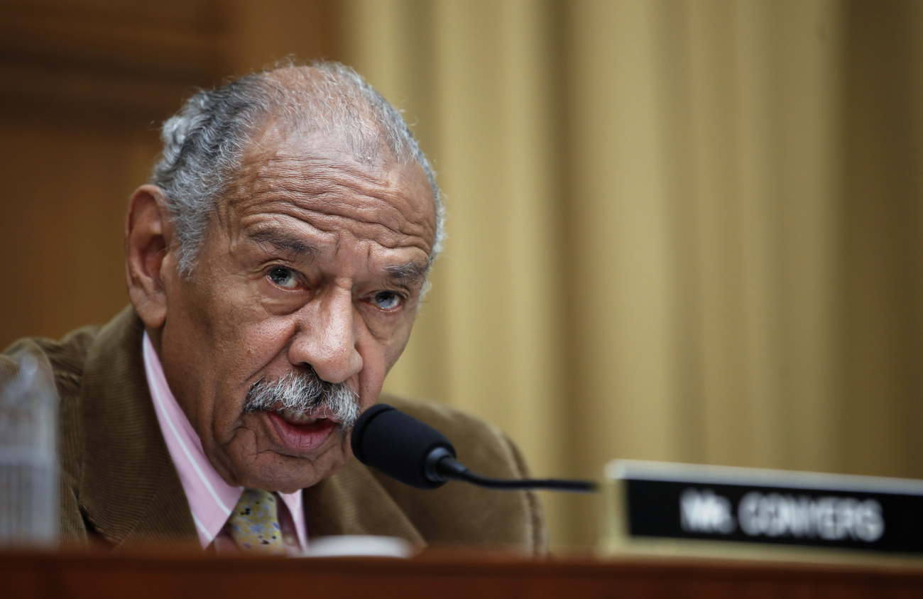 John Conyers, photographié à Washington en avril 2017.