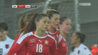 Suisse - Albanie (5-1) : Victoire écrasante de la suisse. [RTS]
