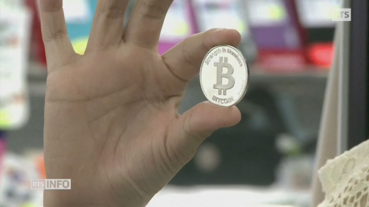 Le cours du bitcoin flambe [RTS]