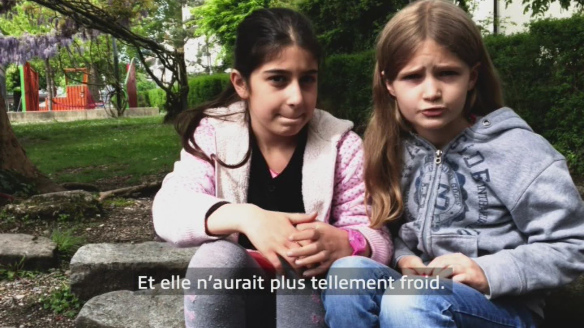 Paroles d'enfants: Helin et Anna