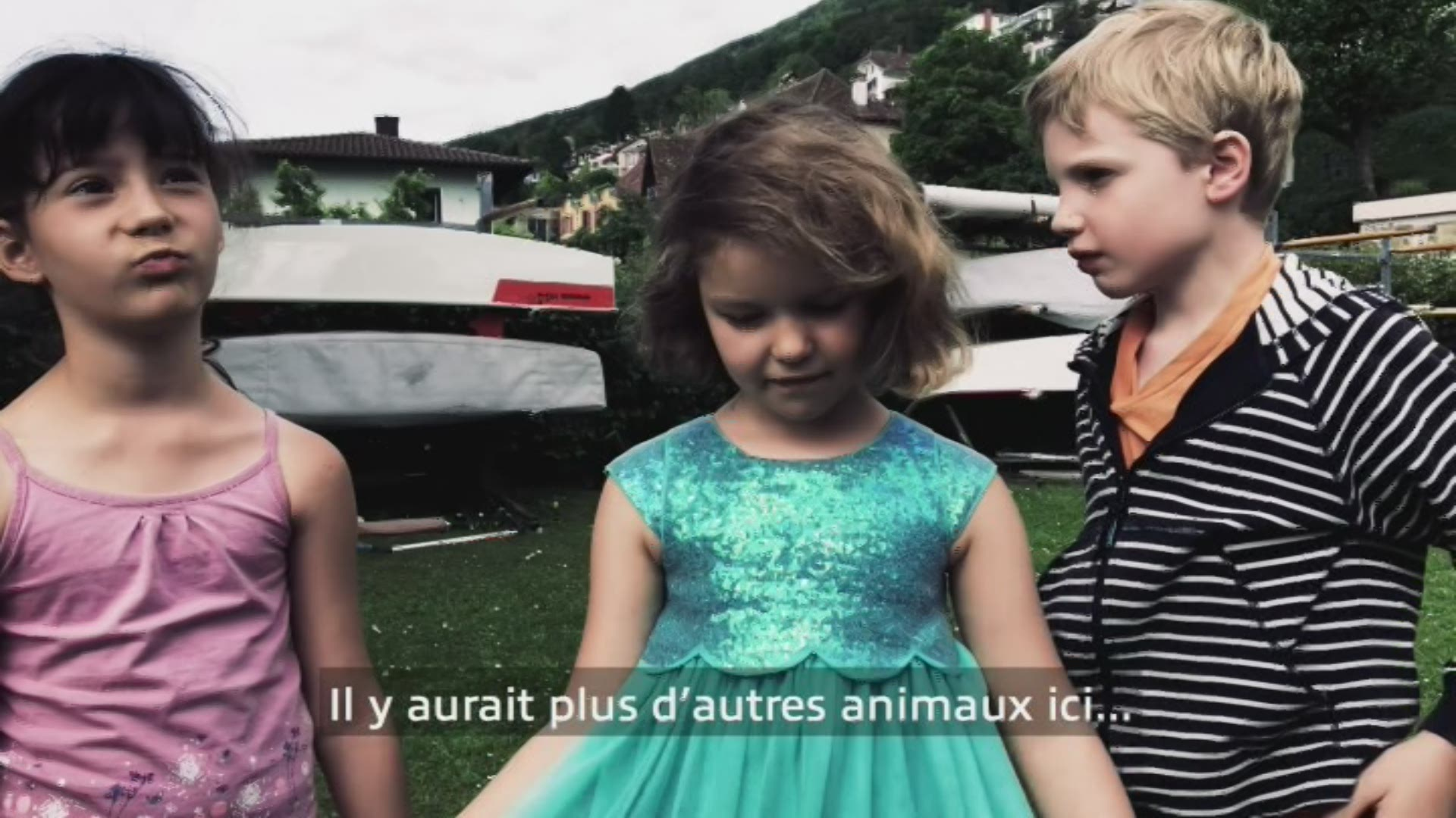 Paroles d'enfants: Adrienne, Arianne et Louis