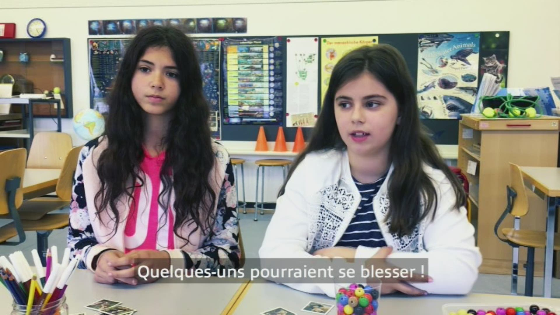 Paroles d'enfants: Larissa et Tiana