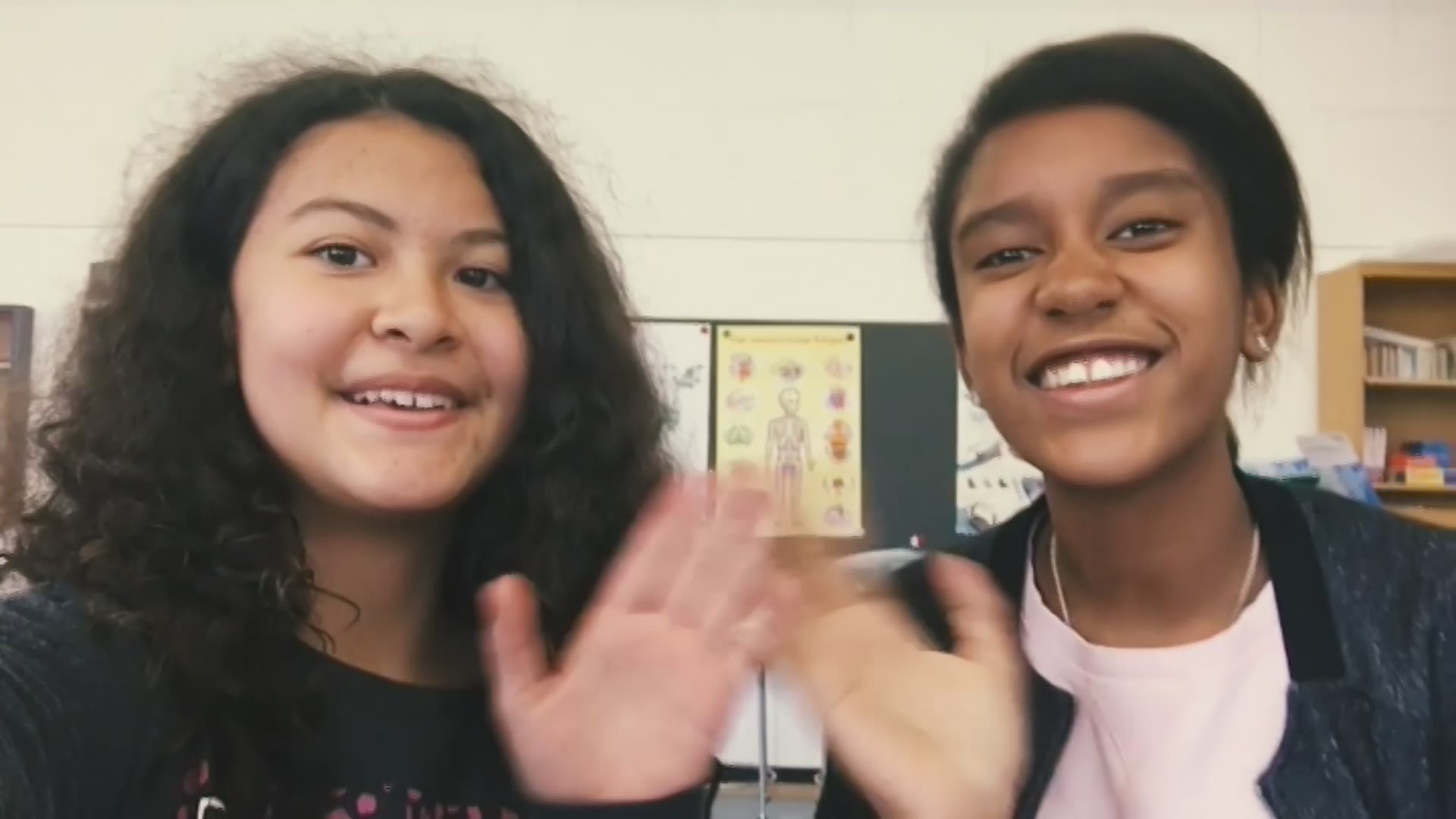 Paroles d'enfants: Valentina et Estefania