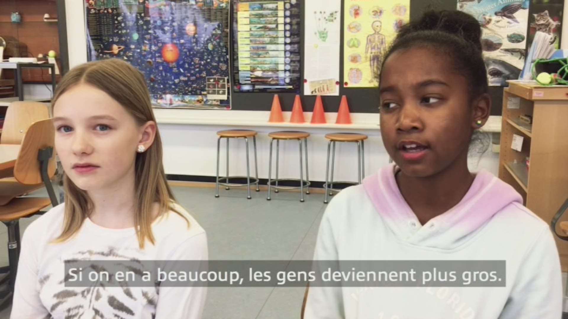 Paroles d'enfants: Melanie et Miosha
