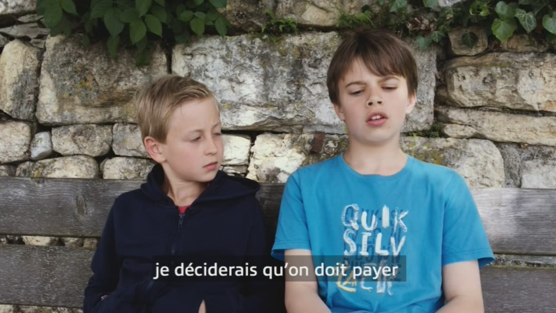 Paroles d'enfants: Louis et Jan