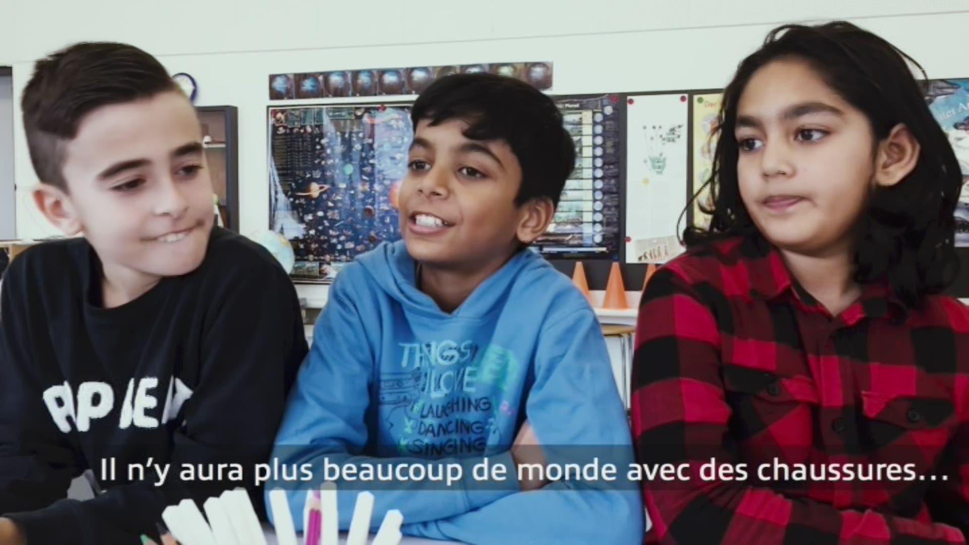 Paroles d'enfants: Elion, Pravin et Arman