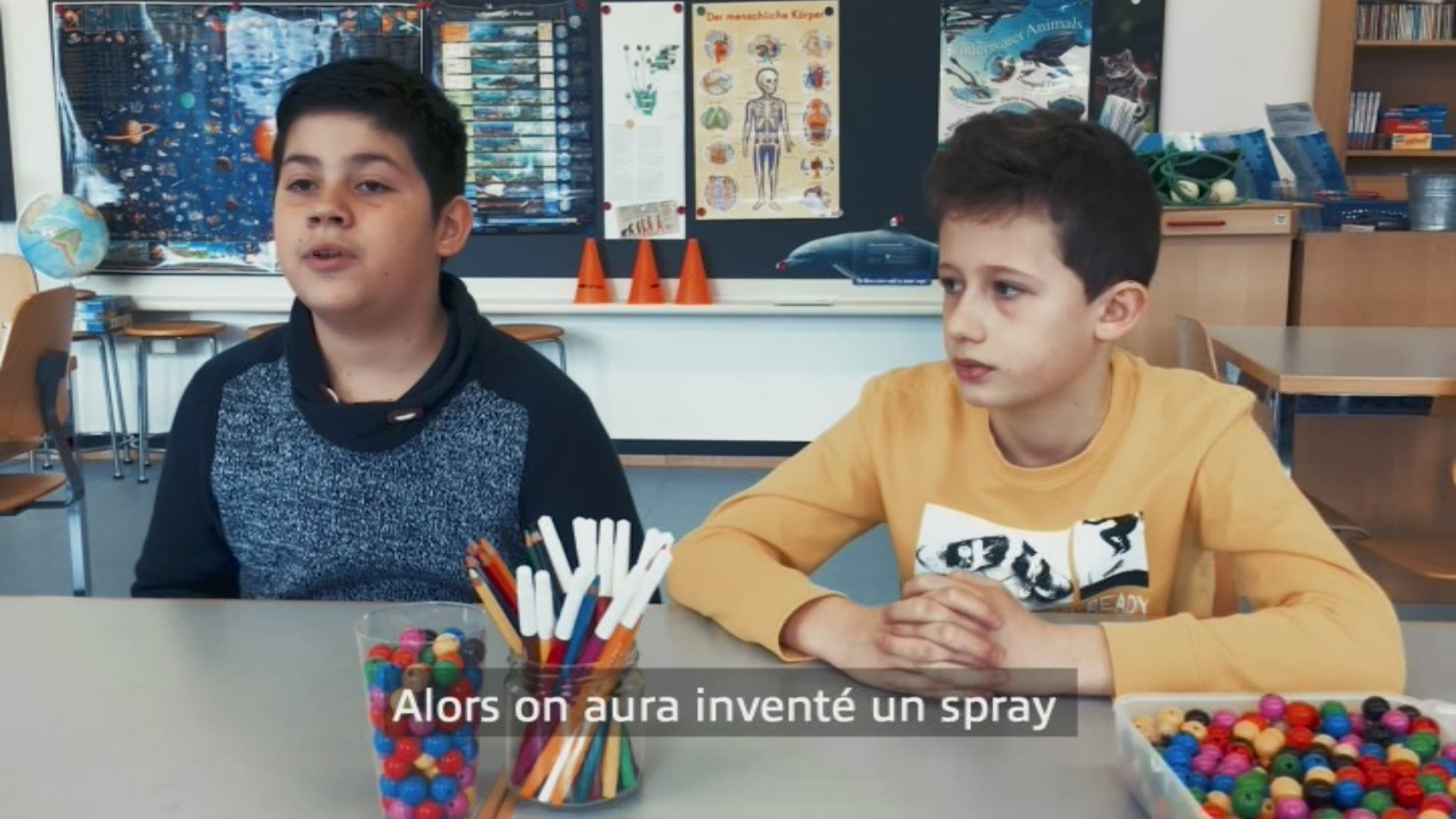 Paroles d'enfants: Amir et Alejandro
