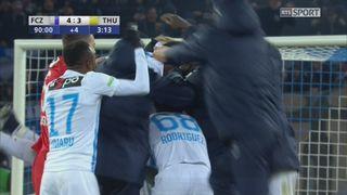 Coupe de Suisse, 1-4 de finale: Zurich - Thoune (4-3): le résumé du match [RTS]