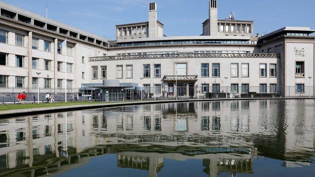 Le Tribunal pénal international sur l'Ex-Yougoslavie à La haye. [EPA/STR - Keystone]