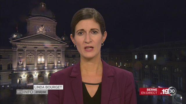 Affaire Buttet: l'analyse de Linda Bourget [RTS]