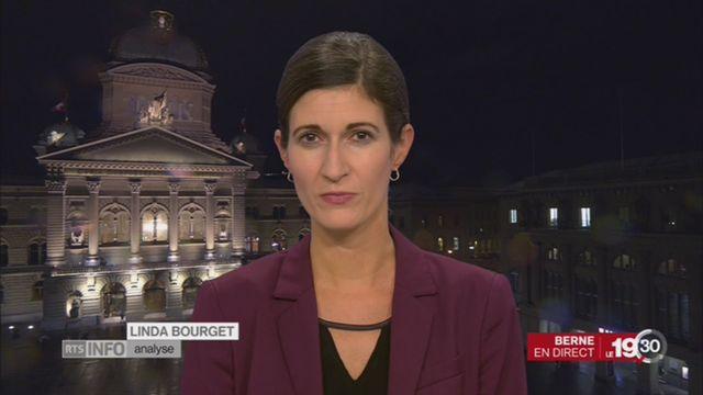 Harcèlement au palais fédéral: l'analyse de Linda Bourget [RTS]
