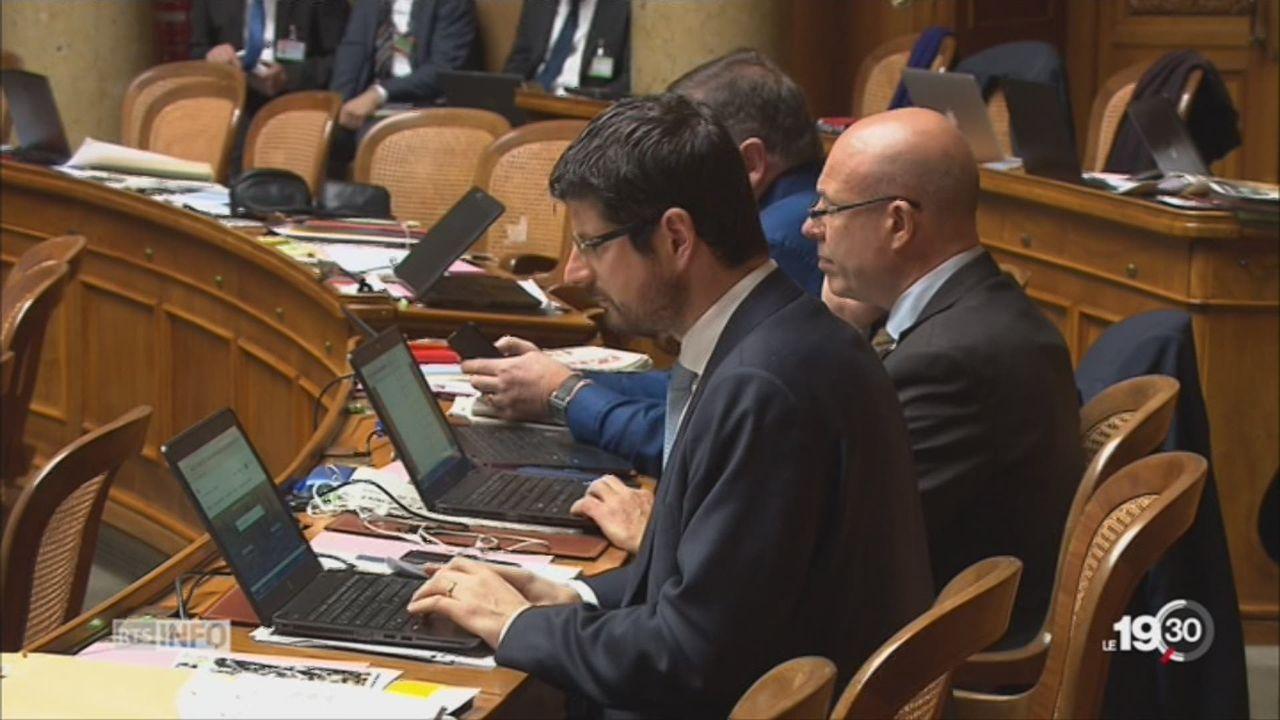 PDC: Yannick Buttet est suspendu de la vice-présidence [RTS]