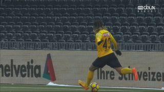 Coupe de Suisse, 1-4 de finale, Young Boys - Saint-Gall 2-1: le résumé du match [RTS]
