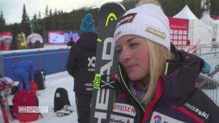 Lara Gut à l'interview [RTS]