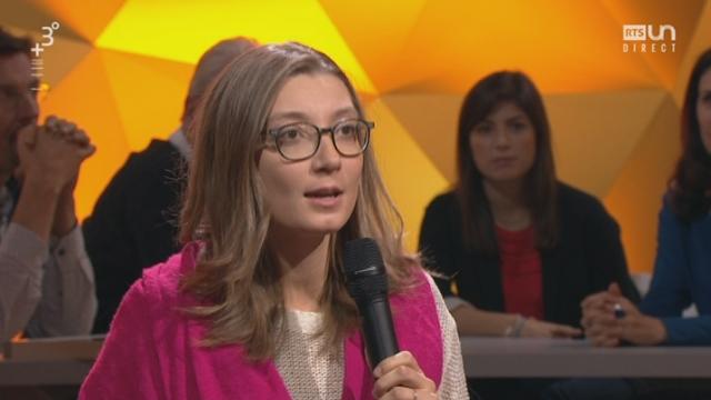 Paroles d'étudiants: Aurélie Sarrio, étudiante UniNE, sur l'alimentation de demain [RTS]