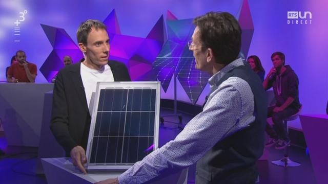 """Opération """"panneaux solaires"""" de la HES-SO [RTS]"""