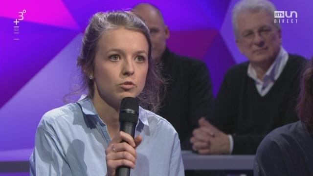 Paroles d'étudiants: réaction de Salomé Astier, sciences politiques UniGE, sur l'influence du politique sur le climat [RTS]