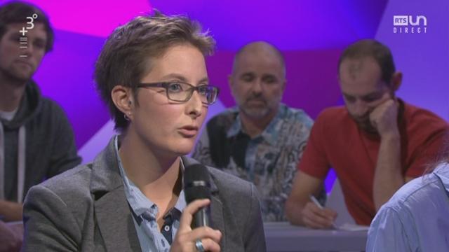 Paroles d'étudiants: Noémie Mayor, diplômée bachelor en énergie et technique environnement, HES-SO Valais, sur le changement des paysages suisses [RTS]