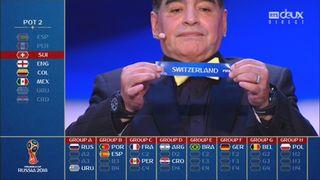 Coupe du Monde FIFA 2018, tirage: la Suisse affrontera le Brésil, le Costa Rica et la Serbie [RTS]