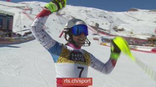 Vidéo concours Coupe du Monde de ski alpin 2017-2018 [RTS]