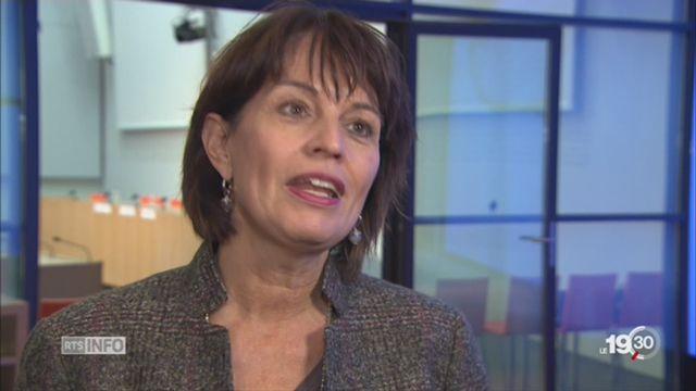 Affaire Buttet: Doris Leuthard réagit [RTS]