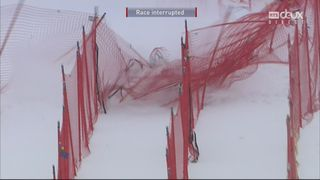 Lake Louise (CAN), descente dames: Lindsey Vonn (USA) chute violemment [RTS]