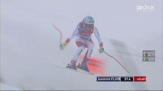 Lake Louise (CAN), descente dames: Jasmine Flury (SUI) [RTS]