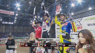 Supercross de Genève-Finale, SX1: victoire du Français Marvin Musquin [RTS]