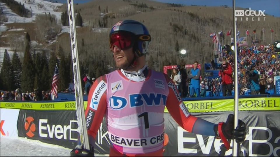 Beaver Creek (USA), Descente messieurs: 1re place pour Svindal (NOR) [RTS]