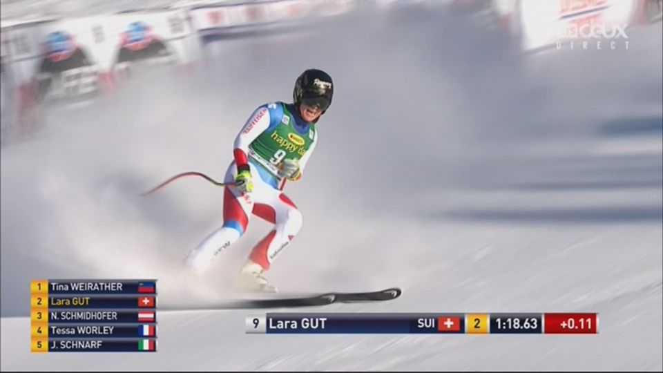 Lake Louise (CAN), Super G: Lara Gut (SUI) [RTS]