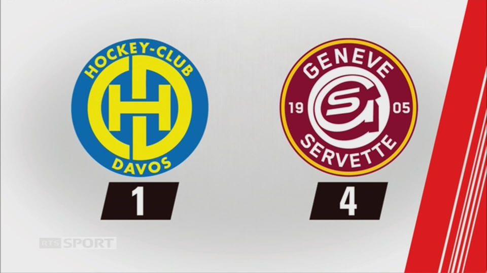 Davos - Genève (1-4): tous les buts du week-end [RTS]