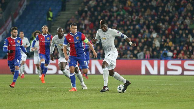 Le FC Bâle face au Manchester United le 22 novembre 2017. [Phil Duncan / Pro Sports Images Ltd / DPPI - AFP]