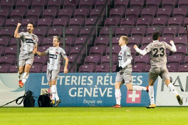 Les Neuchâtelois ont fait un pas de plus en direction de la Super League. [Pascal Muller - EQ Images]
