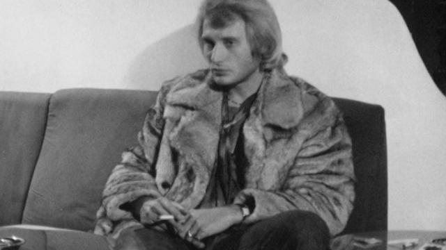 Johnny Hallyday en interview en 1969. [RTS]