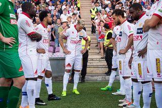 Le FC Sion a perdu face à Bâle son invincibilité en finale de Coupe le 25 mai. [Jean-Christophe Bott - Keystone]