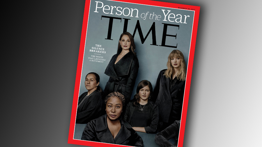 La Une de Time Magazine.