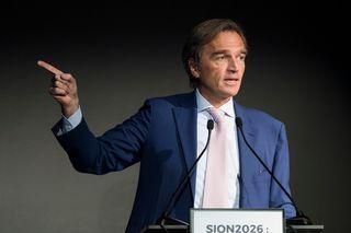Jean-Philippe Rochat était à la tête du comité Sion 2026. [Jean-Christophe Bott - Keystone]