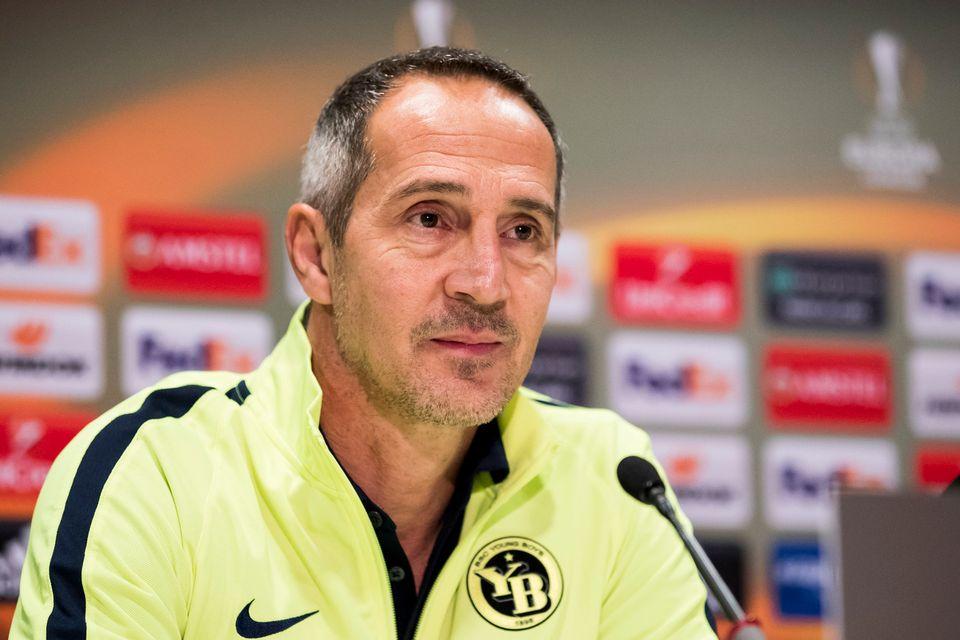 Adi Hütter va préserver ses hommes pour la Super League. [Christian Merz - Keystone]