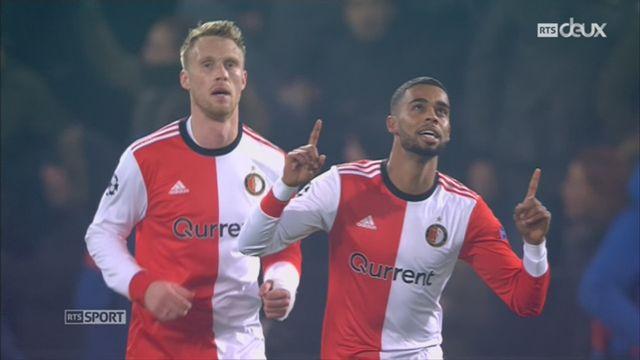 Ligue des Champions, Gr. F, Feyenoord - Naples (2-1): le résumé du match [RTS]