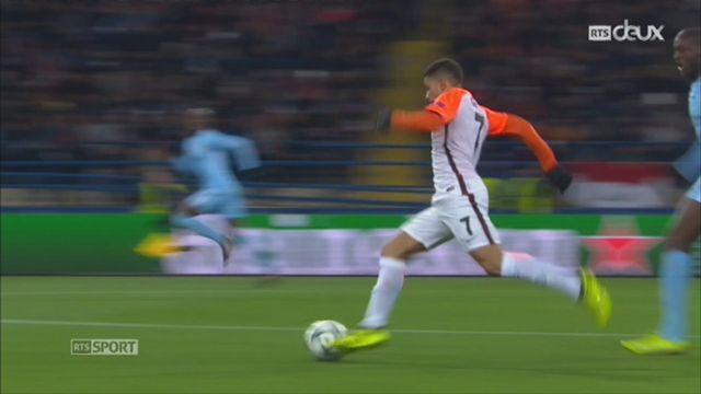 Ligue des Champions, Gr. F, Shaktar Donetsk - Manchester City (2-1): le résumé du match [RTS]