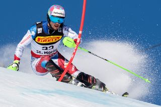 299907690 Coupe du monde-Combiné alpin, slalom messieurs [Jean-Christophe Bott - Keystone]