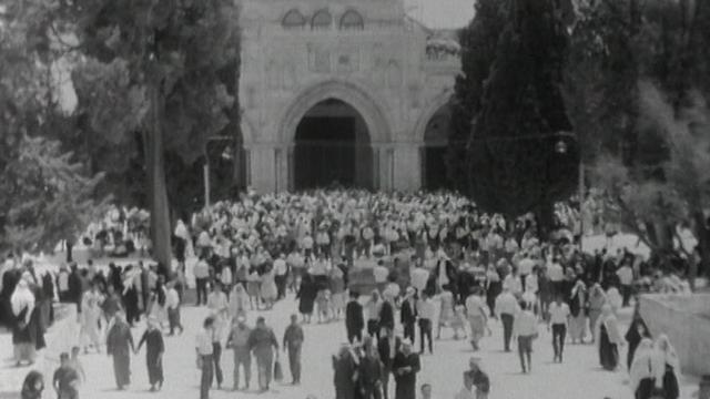 Jérusalem après la Guerre des Six Jours, 1967. [RTS]