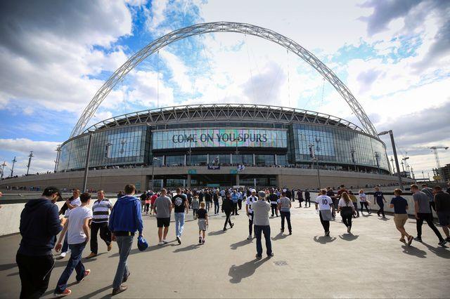 Wembley hérite des matches prévus au départ en Belgique. [Marc Atkins - EQ]