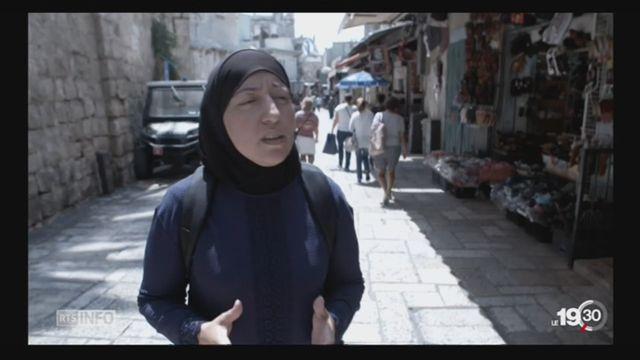Jérusalem capitale d'Israël: le risque d'embrasement grandit au Proche-Orient [RTS]