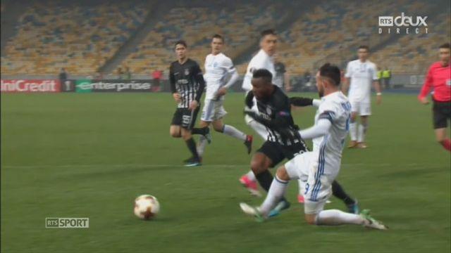 Ligue Europa, Gr.B, Dynamo Kiev - Partizan (4-1): la victoire et la première place pour Kiev [RTS]