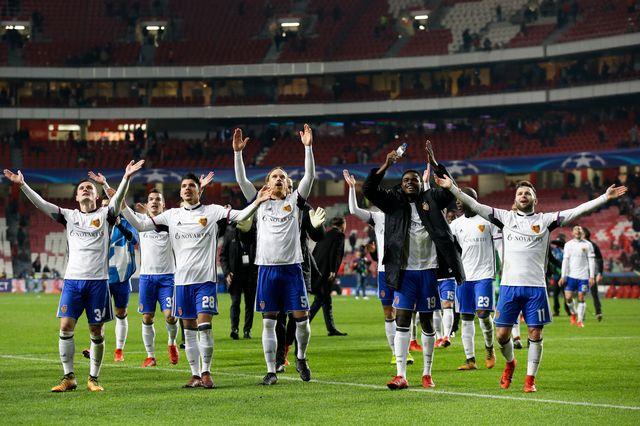 Les Bâlois joueront les 8es de finale de la Ligue des champions en février. [Armando Franca - Keystone]
