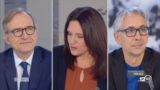 Le rendez-vous de la presse: Luis Lema et Jean-Philippe Schaller reviennent sur la décision de Trump de déplacer l'ambassade américaine à Jérusalem [RTS]