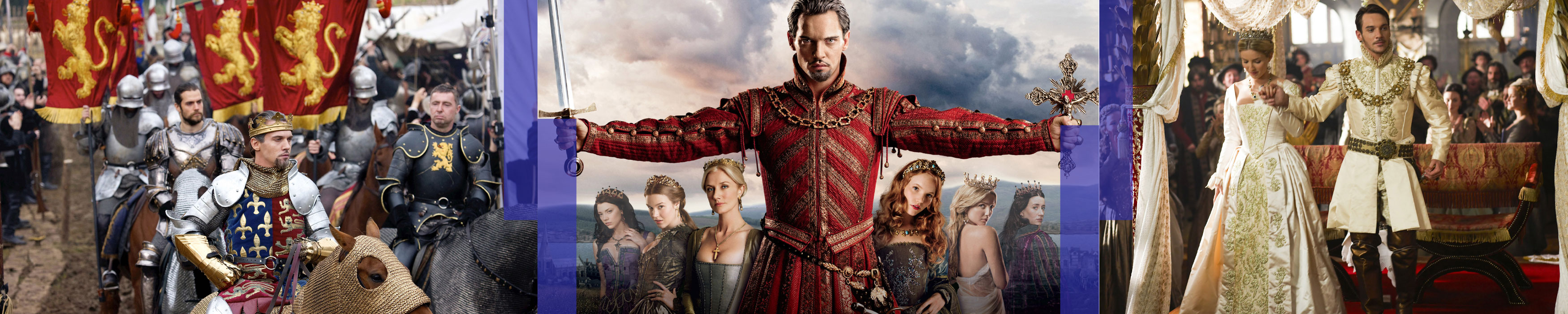 "Banner ""The Tudors""."